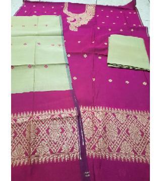 Tangail tat cotton salwar kameez