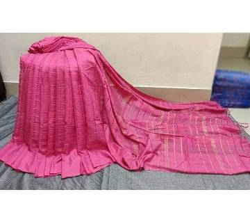 monipuri jum saree with blouse piece