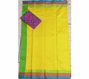 Tosor Half silk sari