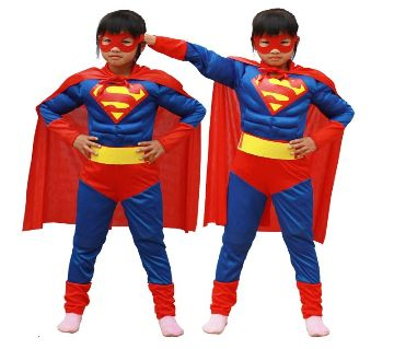 superman full dress -red and blue best gift for kids