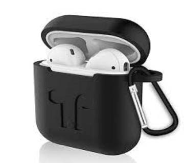Strap Holder & Silicone Case Cover for Apple Airpods Air Pod Earpods Accessories