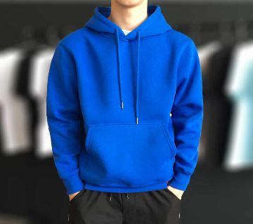 WINTER HOODIE FOR GENTS BLUE