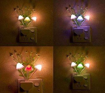 Romantic Colorful LED Mushroom Night Light
