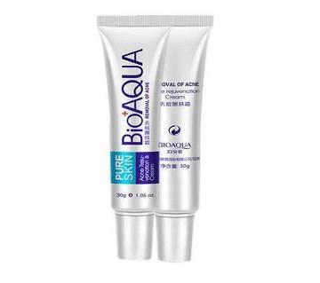 BIOAQUA Pure Skin Acne Cream -30gm-Korea