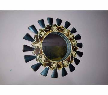 Wooden Made Wall Mirror 2