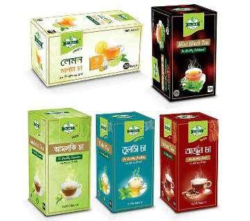 Lemon Malta Tea, Pudina Black Tea, Amloki Tea, Tulsi Tea, Arjun Tea