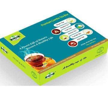 Premium Combo Tea Box - 120 gm(60 Tea Bag)