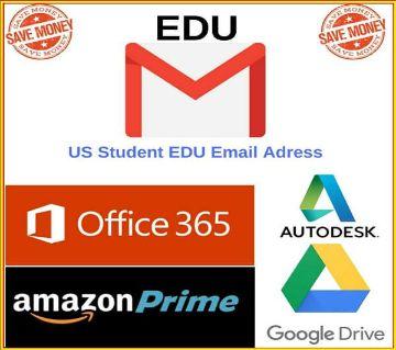 6 Months Amazon Prime & Unlimited Google Drive Storage - US EDU Email