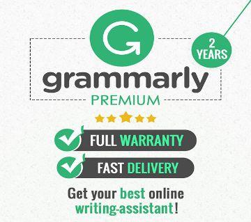 Grammarly Premium account with  2-Year Warranty