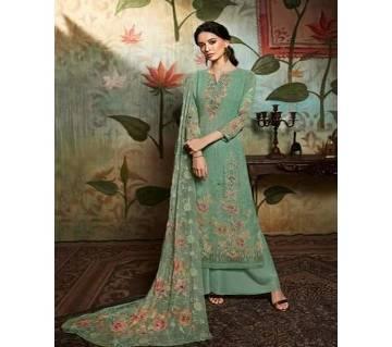 Unstitched Georgette DIGITAL Printed Original Indian Dress 3 piece-11302