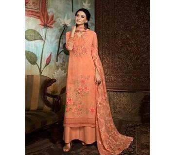 Unstitched Georgette DIGITAL Printed Original Indian Dress 3 piece-11303
