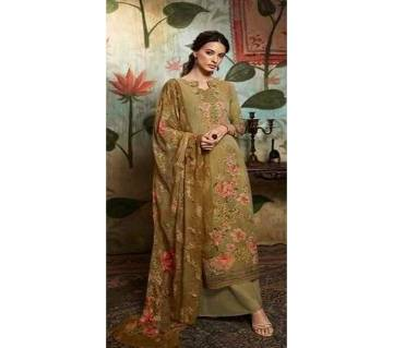 Unstitched Georgette DIGITAL Printed Original Indian Dress 3 piece-11304