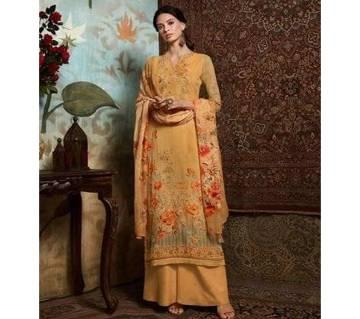 Unstitched Georgette DIGITAL Printed Original Indian Dress 3 piece-11306