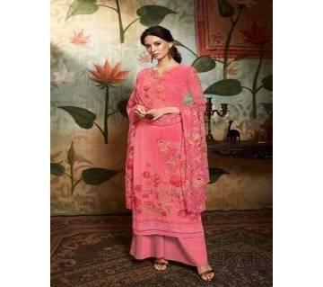 Unstitched Georgette DIGITAL Printed Original Indian Dress 3 piece-11308