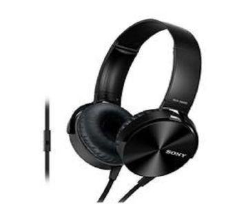 bdc4015 sony MDR- XB450 Over Ear Extra Bass headphone-copy Black