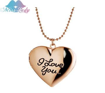 Heart Shaped Pendant Necklaces
