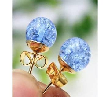 Double Immitation Pearl Stud Earrings