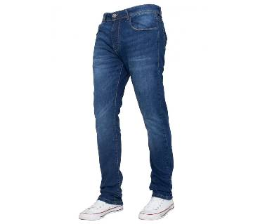 Gents stretchable jeans pant blue