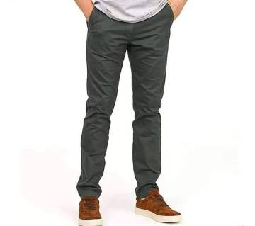 Semi narrow stretchable gabardine pant