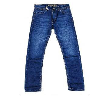 Semi narrow stretchable jeans pant
