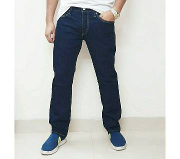 Semi stretchable jeans pant