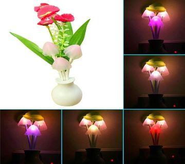 Automatic LED Sensor Mushroom Lamp Multi-Color