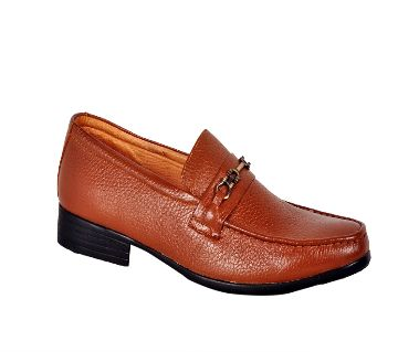 Mens Causal Loafer-Chocolate