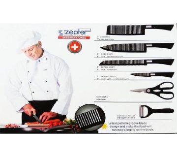 KNIFE SET ZEPTER 6-PC KITCHEN