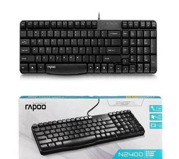 Rapoo N2400 Wired Spill-resistant Keyboard