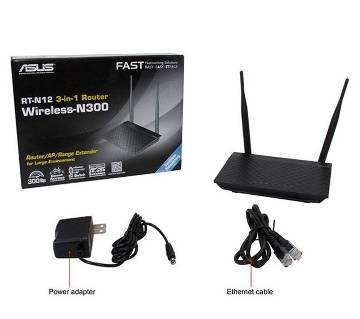 Asus RT-N12+ 3-in-1 Router / AP / Range Extender Router