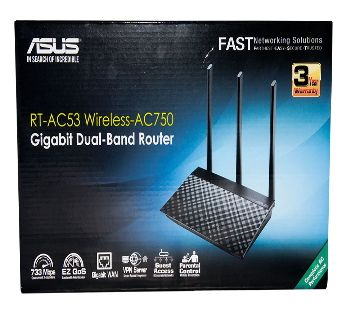 Asus RT-AC53 Dual-Band Wireless -AC750 Router