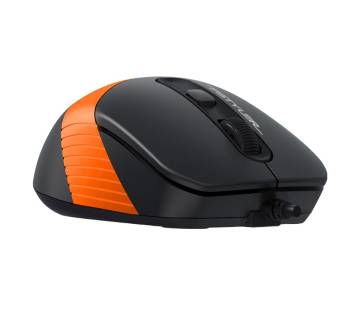 A4tech FM10-Fstyler Wired Optical Mouse Black-Orange