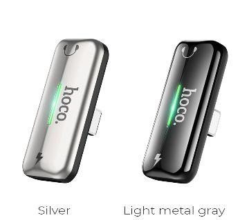 Hoco LS27  Dual Lighting Digital Audio Converter Silver