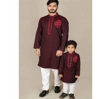 Father & Son panjabi 106-Cotton
