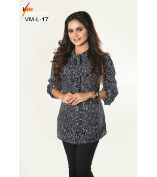 Crepe Georgette Stitched tops