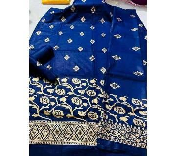 Unstitched Afsan Print Cotton Dress