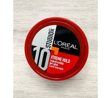 LOreal  Studio Line Xtreme Hold Indestructible Gel-Glue Big Size Gel -(150 ml)-France