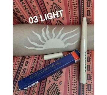 Original Colormax 3 in 1 concealer, corrector & highlighter 03 light-USA-1.4 gm