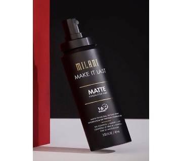 Milani- Make it Last Matte Charcoal Setting Spray-60 ML-USA