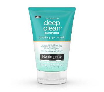 Neutrogena Deep Clean Purifying Cooling Gel Scrub - USA