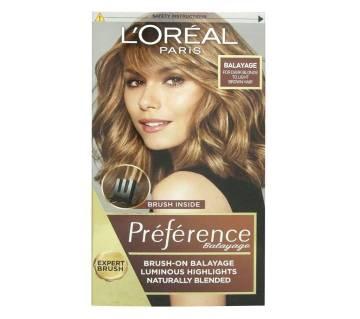 Loreal  Preference Glam Bronde No.3 Brush On Balayage  Hair Dye-France- 8.8 Oz