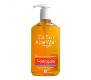 Neutrogena Oil Free Acne Wash 269 ml-Canada