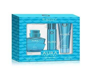 Entity Aura Gift Set For Women 3Pcs  275ml-UK
