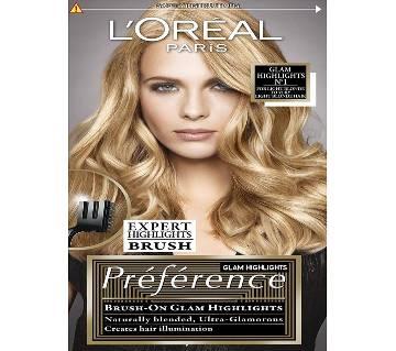 LOral Paris  Glam Lights Prfrence Glam Lights No1  Hair Dye- 6.4 Oz-France