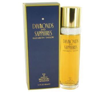 Elizabeth Taylor Diamonds And Sapphires perfume-100 ML-USA