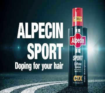 Alpecin Sport Caffeine Shampoo For Men 250ml-Germany