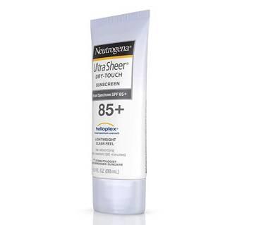 Neutrogena Ultra Sheer Dry Touch Sunscreen 85+ -88ml-USA