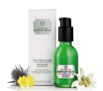 The Body Shop Youth Fresh Emulsion 50 ml-UK