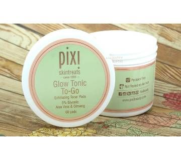PIXI GLOW GLYCOLIC TONIC TO-GO TRAVEL PADS- 4.6 Oz-UK