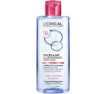 Loreal  Micellar Water Normal to Dry Sensitive Skin  (400ml)-France